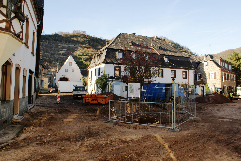 Neugestaltung des Marktplatzes in Kobern-Gondorf